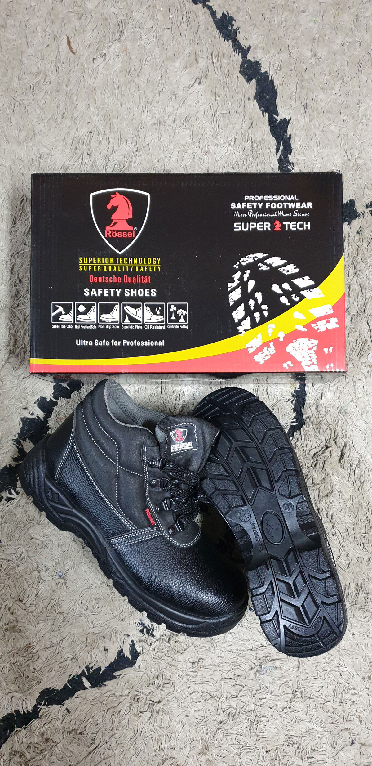 Rossel Safety Boot – High Ankle